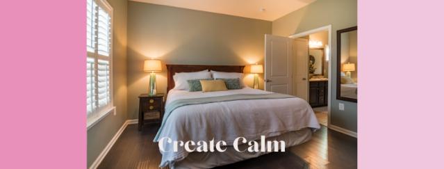 8. create calm